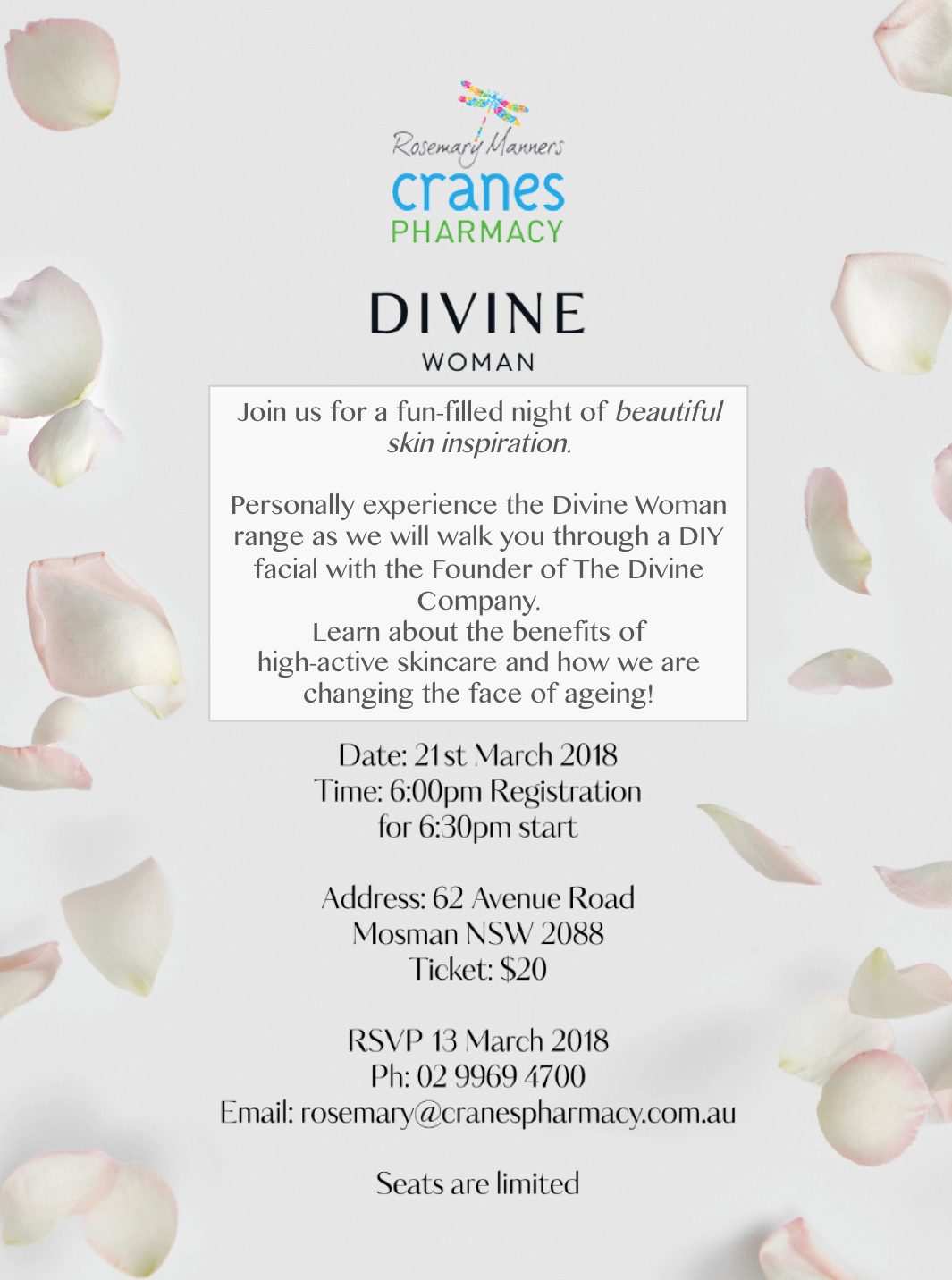 Cranes Pharmacy Event